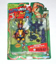 1994 Princess What's Her Name Bug Launcher Earthworm Jim Playmates On Card R4224
