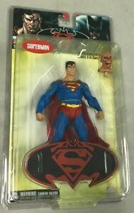 SUPERMAN/BATMAN COLLECTION SET ENEMIES AMONG US ACTION FIGURE ALIEN HEAD