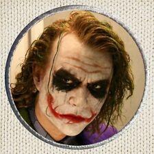 Heath Ledger Joker Patch Picture Embroidered Border Batman The Dark Knight Nolan