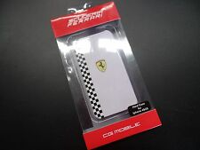 Ferrari Scuderia iphone 4 & 4S CG MOBILE for iphone White Hard Case Cover