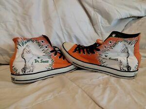 Converse All Stay Chuck Taylor High Rare Dr Seuss The Grinch Sz 11 Shoes Rare