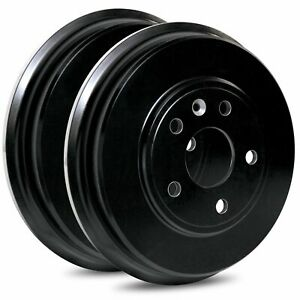 For 2012-2016 Scion, Toyota iQ, Prius C R1 Concepts Brake Drums Rear (Pair)