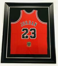 "MICHAEL JORDAN Autographed Bulls ""2009 HOF"" Authentic Red Jersey UDA LE 9/123"