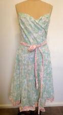 Vintage Style V.O.K Australia Vintage Style Summer Dress  - Size 14