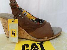 Caterpillar Aubrey Chaussures Femme 36 CAT Footwear Sandales Peep toe UK3 Neuf
