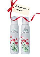 milton lloyd Ladies Body Spray Tissot Flowers 2 X 150ml