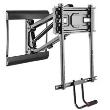 """Above Fireplace Pull-Down Full-Motion TV Wall Mantel Mount 77lbs for 43"""" to 70"""""""