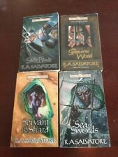 Forgotten Realms Paths of Darkness Book 1, 2, 3, and 4 Paperback Set Wizards