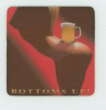 Budweiser Bottoms Up Used Beer COASTERS 2 - Sexy