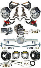 NEW SUSPENSION & WILWOOD BRAKE SET W/ SPINDLES,ARMS,CURRIE REAR END,POSI,687263