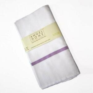 Towels Angel Home Microfiber Bath and Hair Towel Set Two Piece Uses Only Water