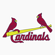 St. Louis Cardinals Jersey Logo MLB DieCut Vinyl Decal Sticker Buy 1 Get 2 FREE