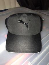 Puma Structured Adjustable Hat Cap Black