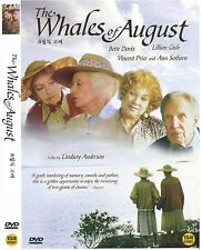 The Whales of August (1987) New Sealed DVD Bette Davis