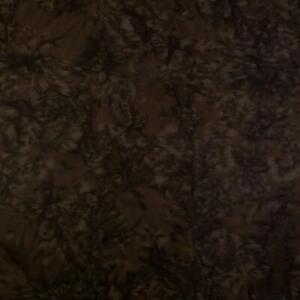 """""""Mocha Marve!"""" An Anthology Lava Batik, Hickory Brown Naturescape,  Per 1/2 Yd"""