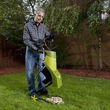 Garden Wood Chipper Shredder Mulcher Yard Work Tools Electric Lawn Branch Leaf