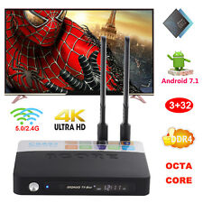 2017 Android 7.1 3+32G DDR4 Amlogic S912 Octa Core 4K Smart TV BOX NEW 3D Movies
