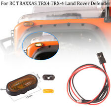1Set NEW Turn Signal LED Light Fit For RC TRAXXAS TRX4 TRX-4 Land Rover Defender