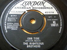 """THE RIGHTEOUS BROTHERS - EBB TIDE  7"""" VINYL"""