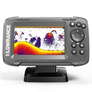 Lowrance HOOK2-4X GPS Fishfinder with Transom Mount Transducer