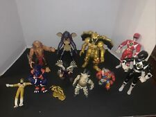 VINTAGE ACTION FIGURES LOT OF 11  He-Man & Power Rangers