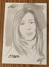Cher 2012 Leaf National Exclusive Sketch Card #1/1