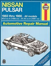 Repair Manual Haynes 72040 fits 83-86 Nissan Pulsar NX