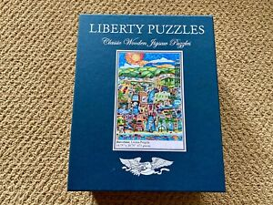 LIBERTY WOODEN PUZZLE BARCELONA 673 PIECES