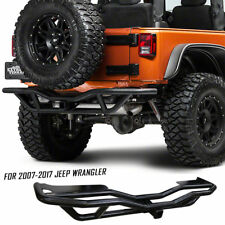 Fits 2007-2017 JEEP WRANGLER JK Offroad Rock Crawler Tubular Rear Bumper Guard