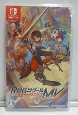 RPG MAKER MV TRINITY REGION FREE - NINTENDO SWITCH  NEW SEALED JAPAN