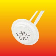 2T301D 2Т301Д LOT OF 2 RUSSIAN MILITARY SILICON NPN TRANSISTOR 150mW 10mA