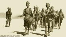British Army World War 1 Indian Regiment Band Mesopotamia Iraq 7x4 Inch Print