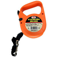 RETRACTABLE DOG PET LEASH  UP TO 40 LBS 16' FEET ROPE CORD LEAD HEAVY DUTY