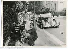 TOURNAGE FILMS ITALIENS 12 PHOTOGRAPHIES 1950 ARGENTIQUES 12 VINTAGE PHOTOGRAPHS