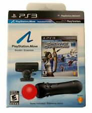 PS3 Playstation 3 Move Bundle Open Box Game Camera Demo Disc MISSING Controller