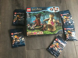 LEGO 75967 Harry Potter Forbidden Forest & X5 Lego Mini Figures Packet New £50+