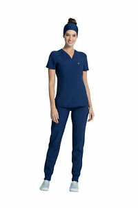 Infinity by Cherokee Women's CK687A V-Neck Scrub Top -NEW-FREE SHIP
