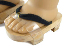 """Wooden Japanese Geta Style Sandals made for 18"""" American Girl Doll Clothes"""