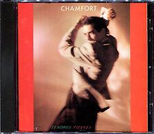ALAIN CHAMFORT - TENDRES FIEVRES - PRESSAGE 1986 CD ALBUM [1044]