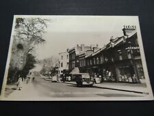 RP REAL PHOTO POSTCARD-P/C - BELLEVUE ROAD - WANDSWORTH COMMON - LONDON
