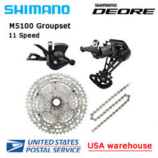 New SHIMANO Deore M5100 11 speed Drivetrain Groupset 51T MTB (OE)