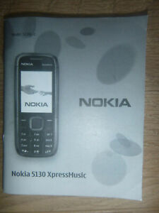 PHONE INSTRUCTIONS FOR NOKIA 5130 XPRESSMUSIC