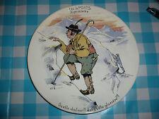 Assiette Sarreguemines ? Les Sports Alpinisme escalade Tyrol montagne piolet LEG