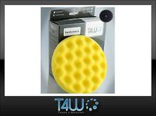 T4W Polishing velcro pad honeycombed sponge 150×25 mm / yellow (semi-soft)