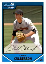 2007 Bowman Draft Baseball Draft Picks #BDPP52 Charlie Culberson SF Giants
