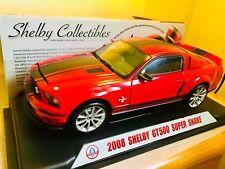 Shelby Gt500 Super Snake 2008 Shelby Collectibles 1:18 Americano Maqueta Coche