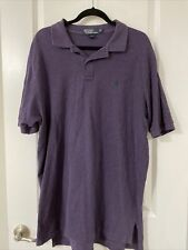New listing Ralph Lauren Polo Shirt Adult Extra Large Purple Pony Golf Rugby Casual Mens