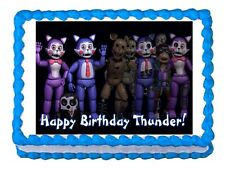 Five nights at Candy's FNaC  party edible cake image topper frosting sheet