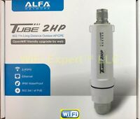 ALFA Networks PoE TUBE 2HP Outdoor Super Long Range Booster OpenWRT Friendly NEW