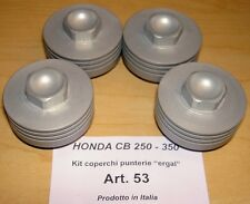 1968-74 Honda CB250 350 750 Cappellini #53 set/4 billet valve cover rocker caps